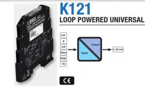 Bộ chuyển đổi tín hiệu nhiệt độ K121 seneca
