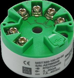 Bộ chuyển đổi nhiệt độ can K sang 4-20ma MST325