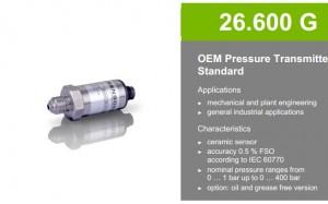 Cảm biến áp suất 26.600G BD Sensors