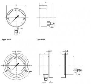 Đồng hồ đo áp suất chất lỏng