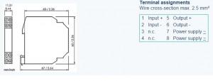 Bộ cách ly tín hiệu 4-20ma DN28