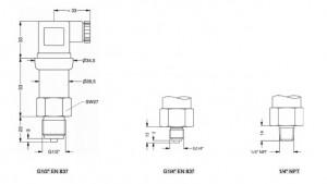 Cảm biến áp lực nước DMP 335