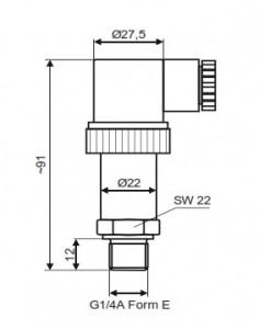 Cảm biến áp suất thủy lực SUKU