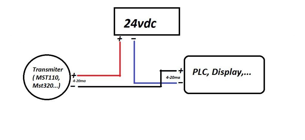 Cách đấu dây bộ chuyển đổi MST320-MST110-MSt660