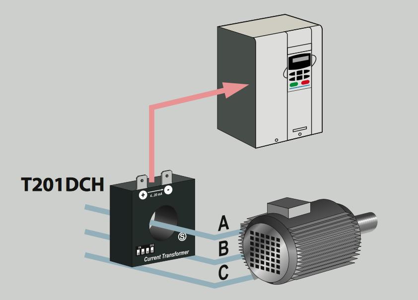 Biến dòng AC sang DC 4-20ma T201