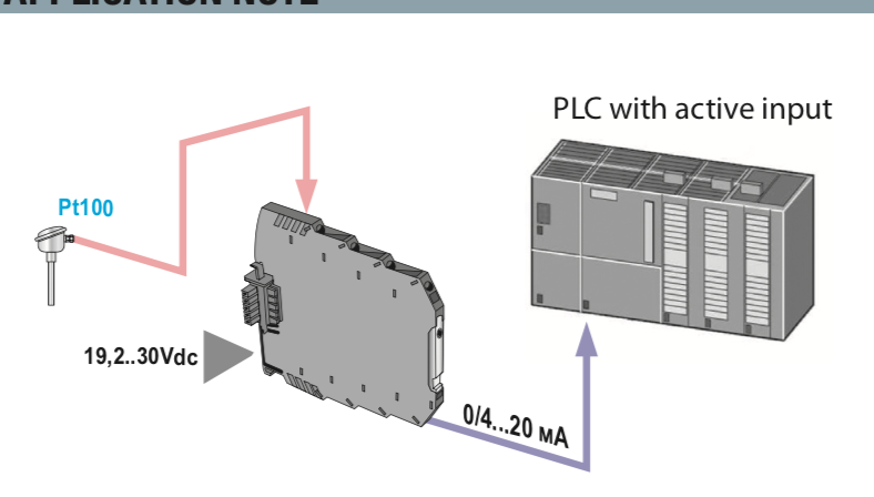 bộ chuyển đổi tín hiệu sang 4-20mA -cảm biến nhiệt độ PT100
