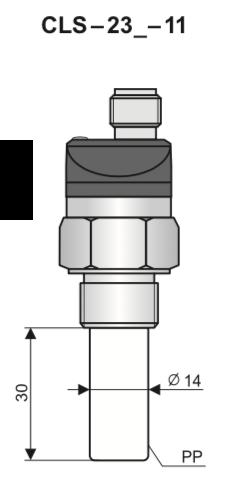 Cảm biến báo mức dung dịch nước CLS-23N
