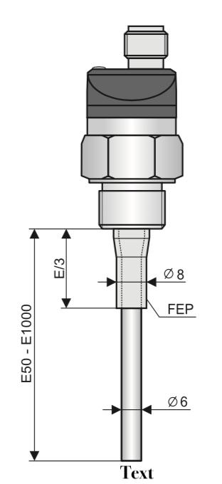 Cảm biến báo mức nước nóng CLS-23N-20