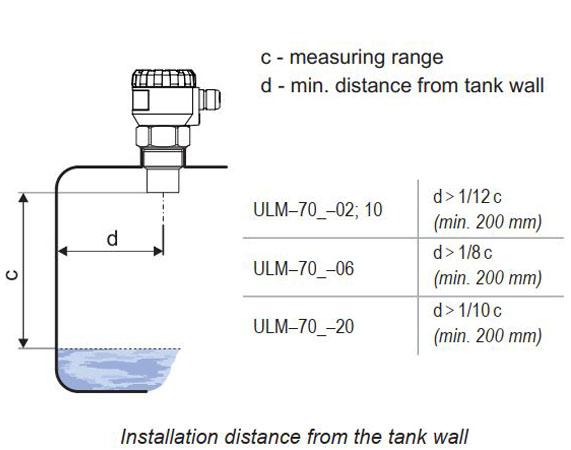 cảm biến siêu âm chống nước