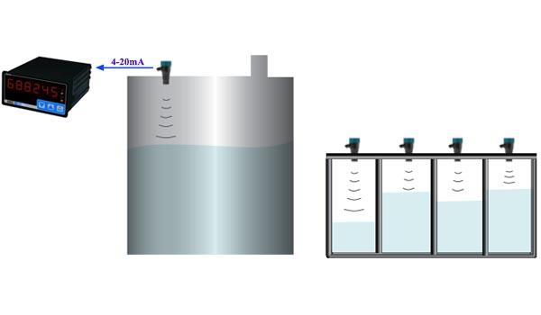 cảm biến đo mức axit không tiếp xúc