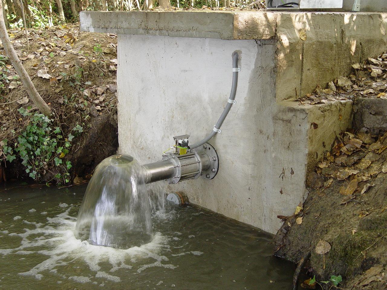 đo lưu lượng nước thải ra môi trường ngoài