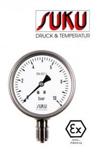 Đồng hồ đo áp suất Suku 6325