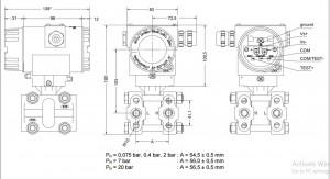Cảm biến đo chênh áp XMD