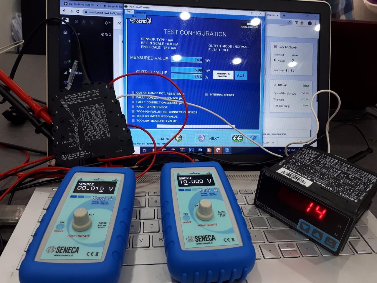 Bộ đo phát dòng 4-20ma TEST-4