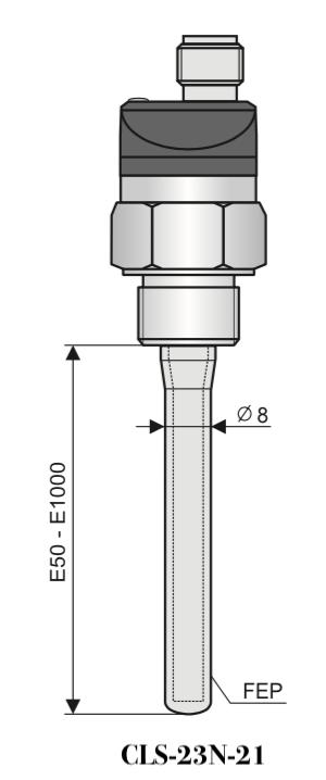 Cảm biến báo mức nước lò hơi CLS-23N-21