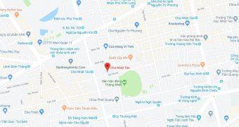 Bản đồ khu chợ Nhật Tảo Hồ Chí Minh