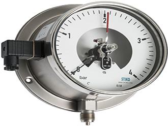 đồng hồ áp suất 3 kim stiko