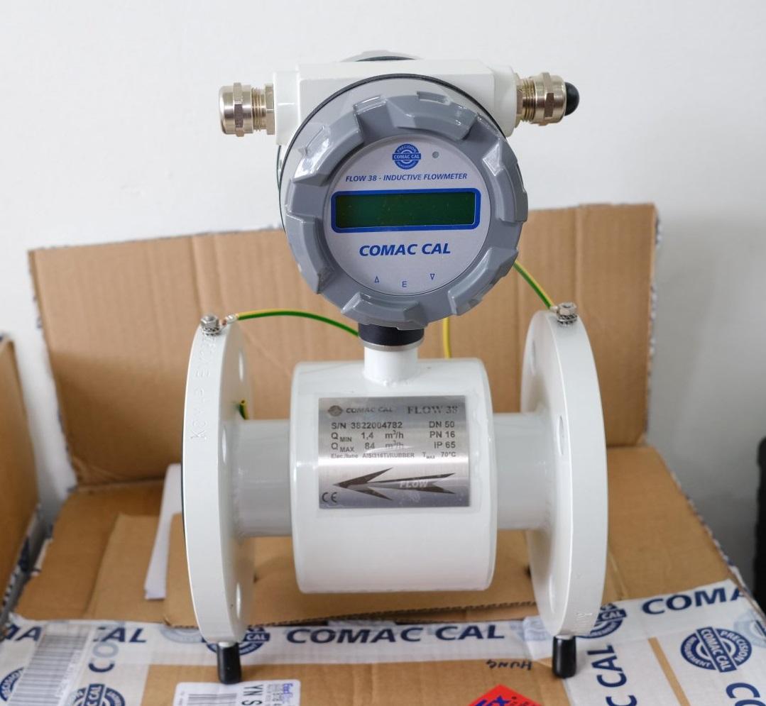 Đồng hồ đo lưu lượng dạng điện từ