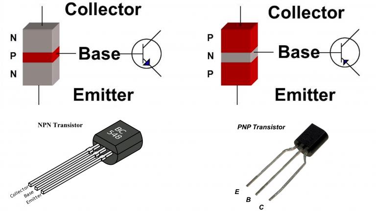 Phân Biệt Transistor NPN và PNP